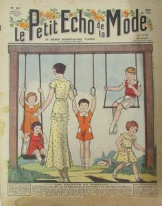 LE PETIT ECHO DE LA MODE N° 37 de 1932