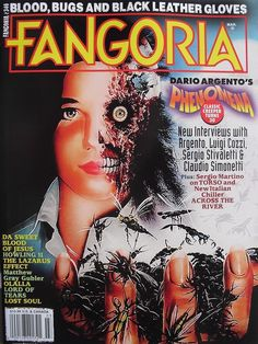 Fangoria magazine Dario Argento Phenomena Howling 2 The Lazarus Effect Lost Soul