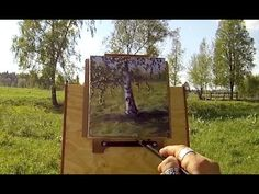 Real Time Outdoor Acrylic Painting Demo