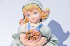 Vintage ESD Lefton Japan Dutch Girl Cookie by FinchAvenueVintage