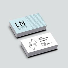 LN BYG business card #businesscard #danish #business #graphic #design #young #identity #buildingcompany #dk #denmark #visitkort #visuelidentitet #grafiskdesign #ungt #udtryk Building Companies, Business Cards, Identity, Smile, Instagram Posts, Lipsense Business Cards, Personal Identity, Name Cards, Visit Cards
