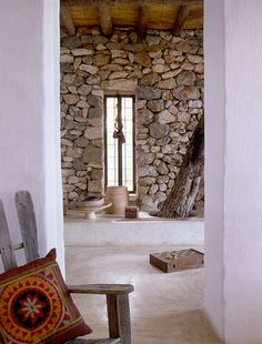 A RUSTIC YET MODERN VILLA ON IBIZA | THE STYLE FILES - FLOOR COLOUR