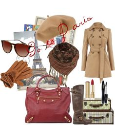"""Go to Paris"" by lablem on Polyvore"