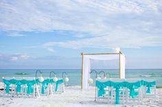 Turquoise Panama City Wedding By Princess Co Mint Beach Pinterest And Weddings