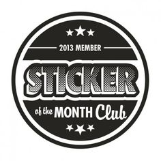 "StandOut Stickers ""Sticker of the Month Club"""