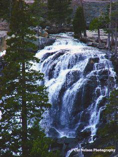Eagle Falls from Catherine Nelson. Located near Lake Tahoe.