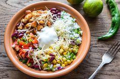 Healthy, Quick & Easy Chicken Burrito Bowl – ClearMe