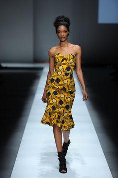 Gloria Wavamunno- african print dress