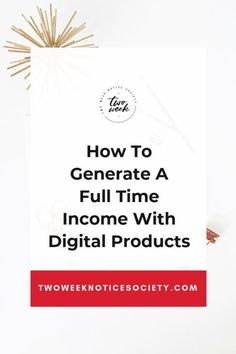 How To Generate A Full Time Income With Digital Products. Ready to start making money online? Here are the top reasons why you need to sell digital products! How you can start creating consistent income from your ebooks, courses and digital products today Earn Money Online, Make Money Blogging, Make Money From Home, Way To Make Money, How To Make, Quick Money, Money Fast, Affiliate Marketing, Online Marketing
