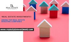 Based out of California, 'Real Estate Investment' is one of the top real estate investing companies in the USA, boasting a reputed market-wide presence.   #PropertyInvestmentCompaniesUsa #InternationalRealEstateInvestorsNetwork #BestPropertyInvestmentCompany Investment Companies, Investment Property, Real Estate Ads, Real Estate Investing, California, Usa, The California, U.s. States, Real Estate Advertising