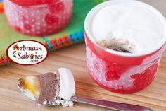 Torta de sorvete em camadas