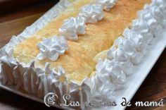 Pastel de hojaldre y merengue