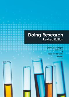 This book was written by authors with a passion for research development with the purpose of giving novice researchers a holistic view of what they will encounter when doing research.  The interplay between scientific theory, academic research and professional practice has been highlighted as these are considered the cornerstones to be mastered as early as possible in a young researcher's career. Research And Development, Authors, Theory, Purpose, It Works, Career, This Book, Passion, Writing