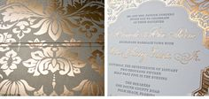 Luxury Wedding Invitations by Ceci New York - Our Muse - Gold and Black Wedding at The Breakers - Be inspired by Amanda & Joe's uniquely glamorous black and gold wedding at The Breakers in Palm Beach, Florida - Ceci New York Luxury Wedding Invitations - c
