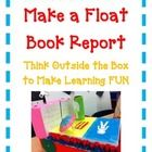 BOOK REPORT- Pop-Up Book - Fun Easy Directions Artistic Creative Challenging  Your students will be completely engaged in this Pop-Up book report!  This is a fun way your students can show what they have learned about a book ...