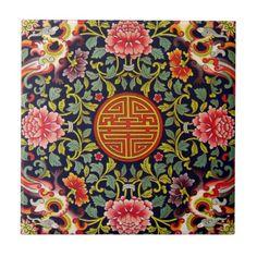 Peranakan Straits Chinese Nyonya Nonya Singapore Tile
