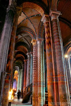 Pillars, Notre Dame,Paris, France