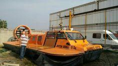 Embarcação Hovercraft