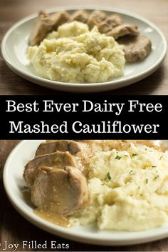 You will never know this is dairy free or that it is cauliflower. It is creamy, rich, & buttery. Mashed potatoes you have been beat. Low carb, dairy free, THM S.