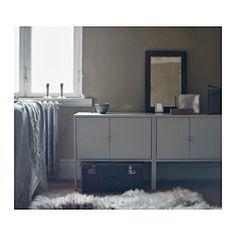LIXHULT Kast, metaal, grijs - 60x35 cm - IKEA