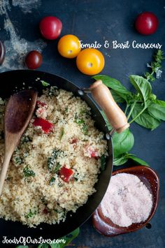Tomato and Basil Couscous | Foods of Our Lives