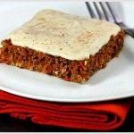 Raw Carrot & Orange Cake Recipe   The Raw Chef - Raw Food Recipes