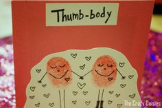 "i want to make this and have it say ""You're thumb-body special!"" ^_^"