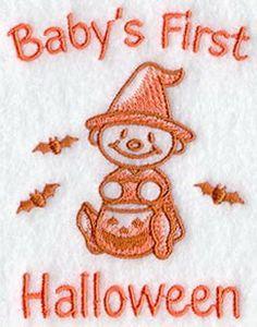 halloween embroidery designs babys first halloween embroidery design flickr photo sharing - Baby First Halloween