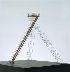 Model of Bells 80 ft high tetrahedral observation tower