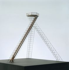 Model of Bells 80 ft high tetrahedral observation tower