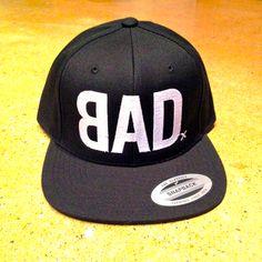 6b18d3676ba BAD black snapback hat  bad  snapbacks  hats  style  black