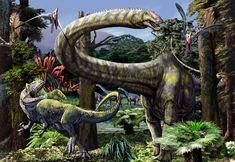 Jurassic Scene - Luis V. Rey