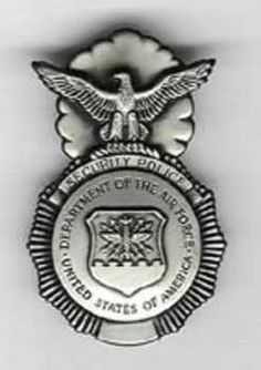 U.S. Air Force Security Police Badge