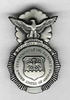 U.S. Air Force Security Police Badge