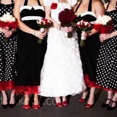 So cute for my bridesmaid! I could totally see my girls in these <3