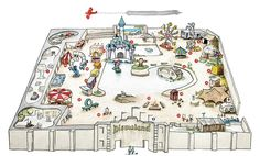 Welcome to Dismaland: A First Look at Banksy's New Art Exhibition Housed Inside a Dystopian Theme Park | Colossal
