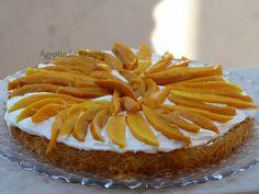 Erfrischendes Rezept für Kunafa (gunafa) mit frischen Mango aus Ägypten.