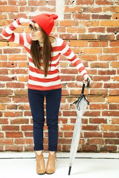 from your closet halloween: where's waldo