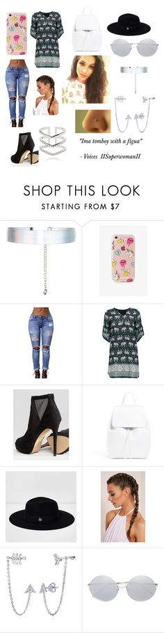 """""""IISuperwomanII"""" by stylesbybeth ❤ liked on Polyvore featuring Accessorize, The Casery, ALDO, River Island, BERRICLE, Linda Farrow and Astrid & Miyu"""