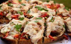 Pizza grillée