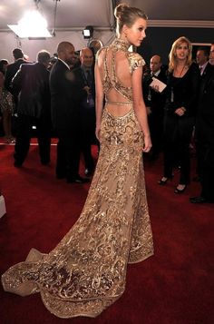 Taylor Swift in Zuhair Murad. The back of this dress is stunning!!!