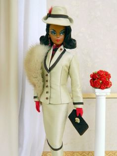 OOAK Fashion for Silkstone Barbie by Joby Originals