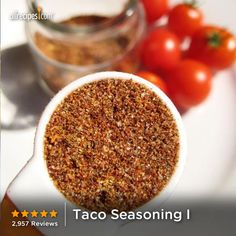 "Taco Seasoning I | ""I love this recipe so much that I never make any changes to it, which is saying a lot for me because I always tweak everything at least a little bit. But this seasoning is perfection!"""