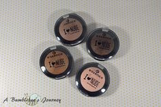 A Bumblebee´s Journey: Essence - I ♥ Nude Eyeshadows (Review)