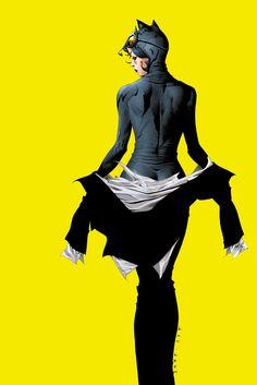 "comicbookwomen: ""Catwoman #40 by Jae Lee"