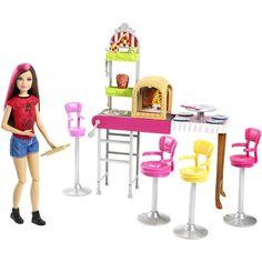 Barbie Sisters' Fun Day! Pizzeria #BarbieMattel