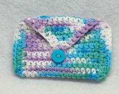 Crochet Quarter Keeper : Crocheted Purses, Cases and Bags on Pinterest Crochet bags, Crochet ...