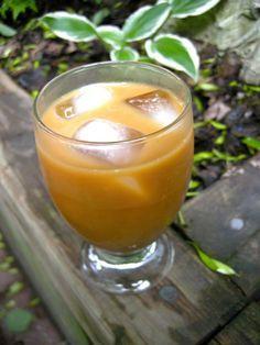 Chaga & Coconut Milk Iced Tea recipe by Alison Smith PhD of alisonsmith.com #glutenfree #sugarfree