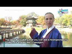 Korean Palace - Gyeongbokgung [Escort the King and Queen to the Garden] - YouTube