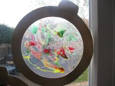 Window Art (Christmas themed) | Pre-school Play